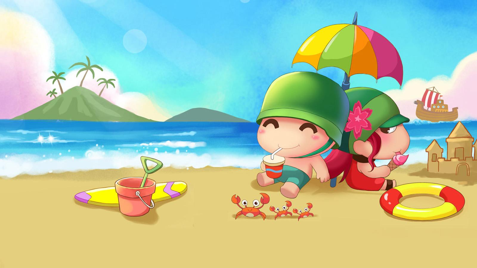 Mùa hè nắng nóng đi ra biển tắm mát thì sướng thôi rồi