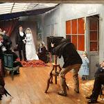 Pascal-Adolphe-Jean Dagnan-Bouveret - Une Noce chez le photographe (1879)