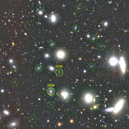 galáxias ultradifusas