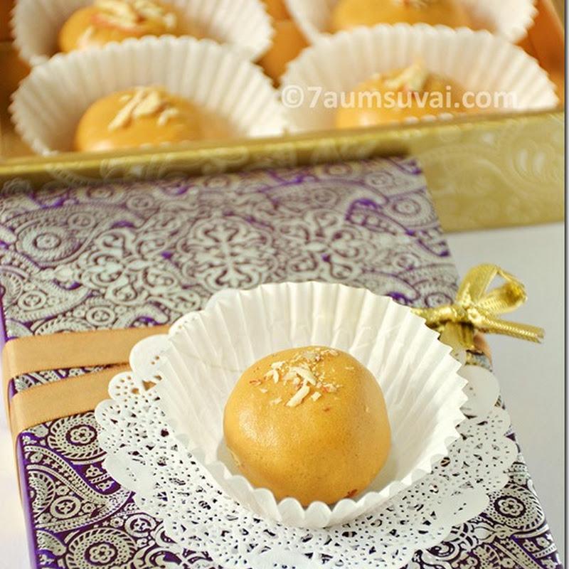 Besan ladoo / besan laddu - Diwali recipes