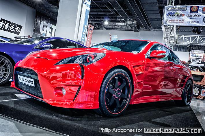 Hyundai Genesis Coupe Body Kit Designs by Atoy Customs 2012 Manila Auto Salon Custom Pinoy Rides pic2