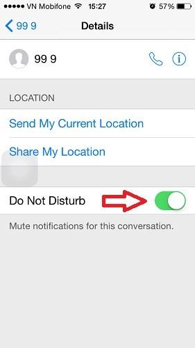 Hình 4 -  Những mẹo nhắn tin Messages trên iOS 8 cho iPhone, iPad