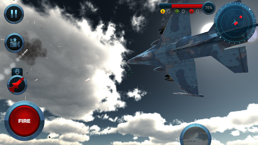 Jet Plane Fighter City 3D 1.0 screenshots 19