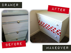 before and after furniture makeover