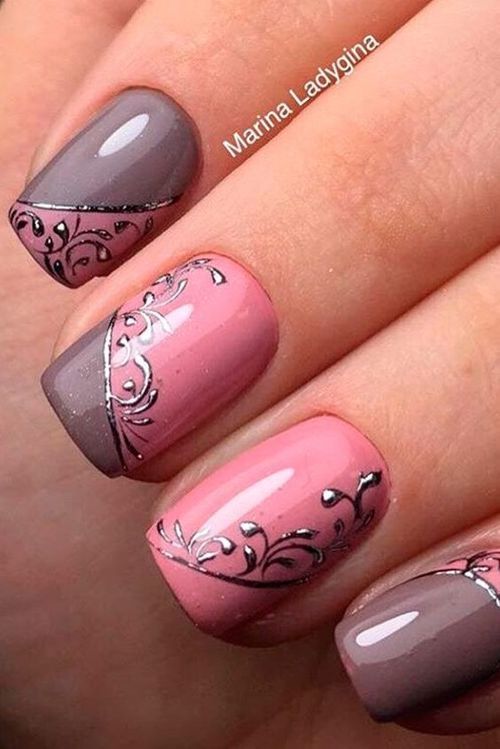 30 Easy Simple Gel Nail Art Designs 2018 Style You 7