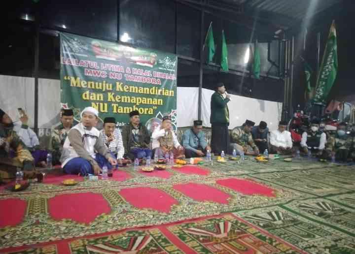 Nahdlatul Ulama Kecamatan Tambora Menyelenggarakan Kegiatan Halal Bihalal