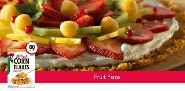 Kellogg's Fruit Pizza Recipe