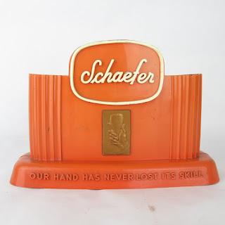 Schaefer Beer Art Deco Bar Caddy