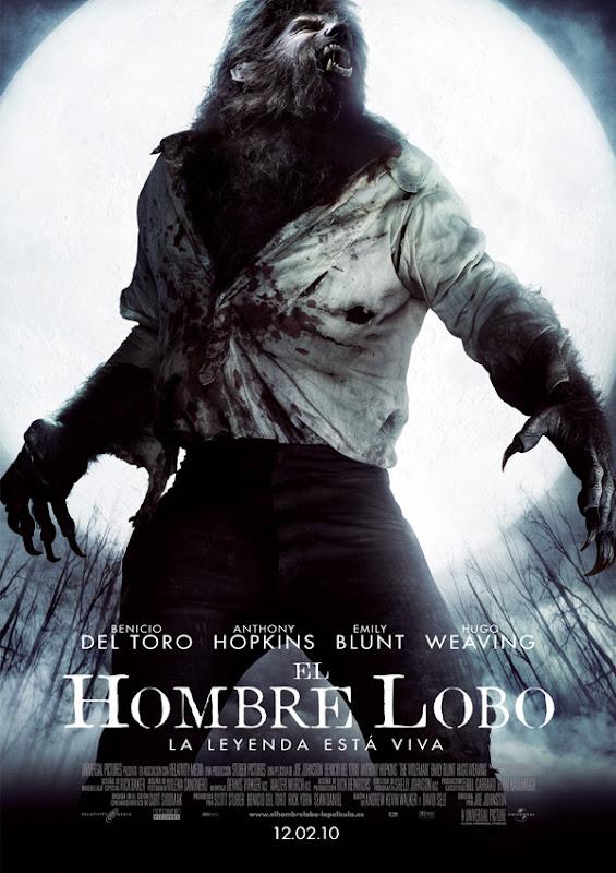 El hombre lobo (Joe Johnston, 2.010)
