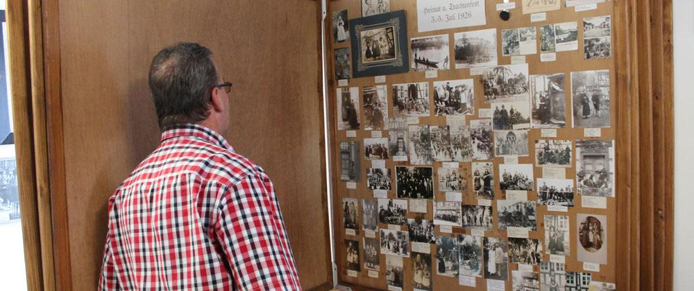 Zahlreiche historische Aufnahmen und Dokumente