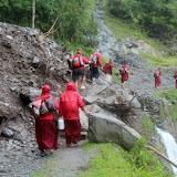 2015年7月24日蔣貢康楚仁波切的印度拉瓦噶舉德千林寺協助土石流救災紀錄