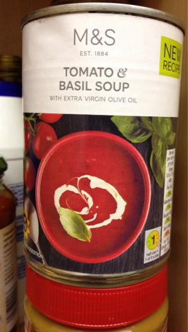 Veg Out : M&S Tomato and Basil Soup
