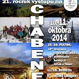 Výstup na Chabenec 2014
