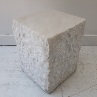 Calcutta Marble Side Table #2
