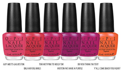opi+texas+2 OPI Texas Collection