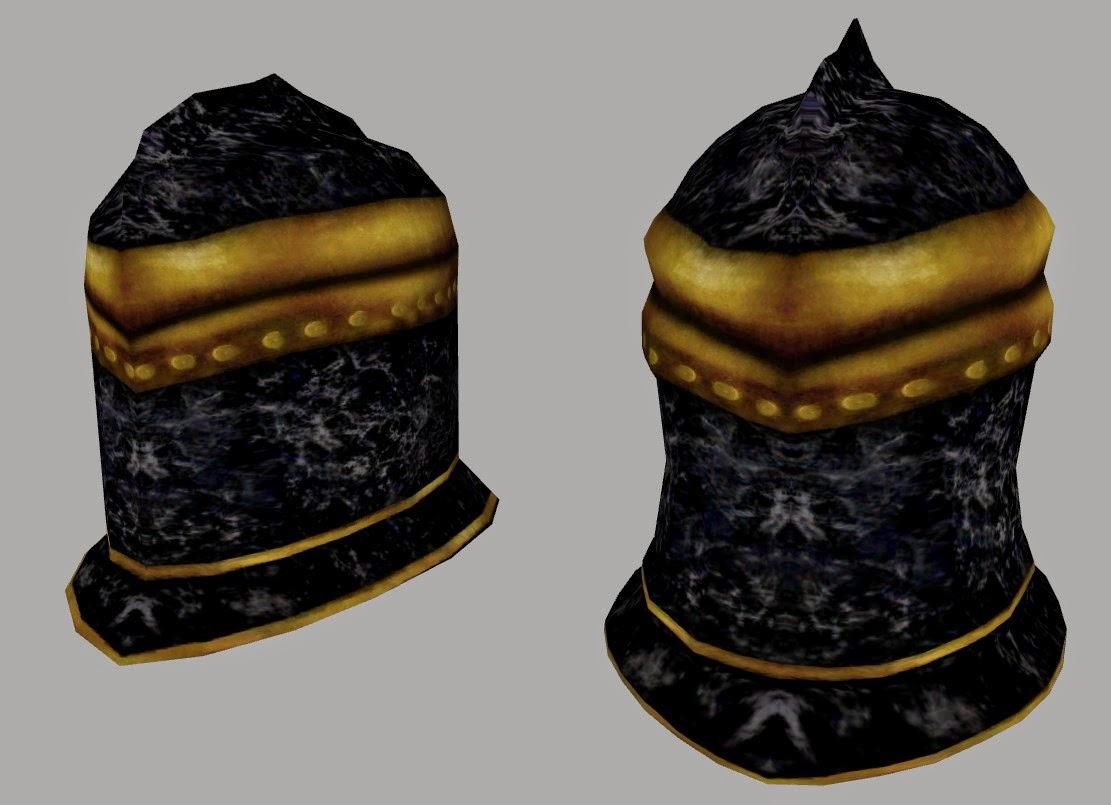 Ebony helm