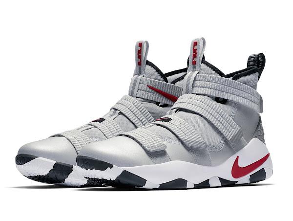 Release Reminder Nike LeBron Soldier 11 Silver Bullet