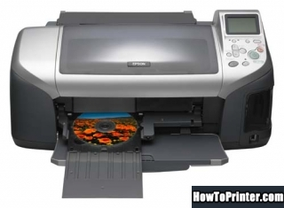 Reset Epson E-300 End of Service Life Error message