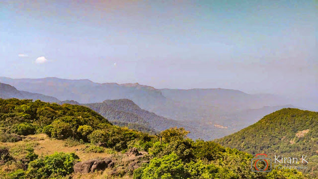 Picturesque view from top of Narasimha Parvatha