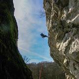 Entraînement canyon à la Roche aux Corneilles