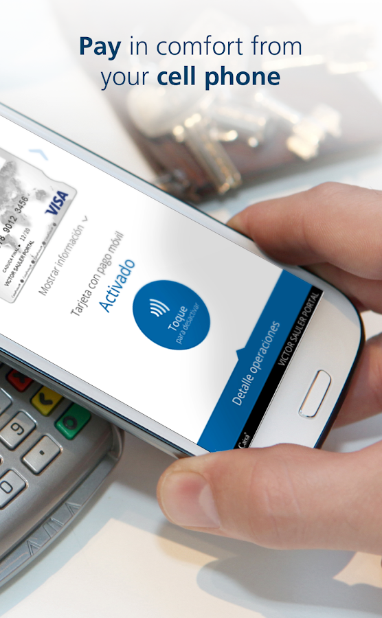 CaixaBank Pay: Mobile payment- screenshot