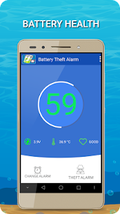 Full battery & unplug charger alarm – Anti Robber - náhled