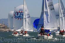 J/24s sailing San Francisco J/Fest