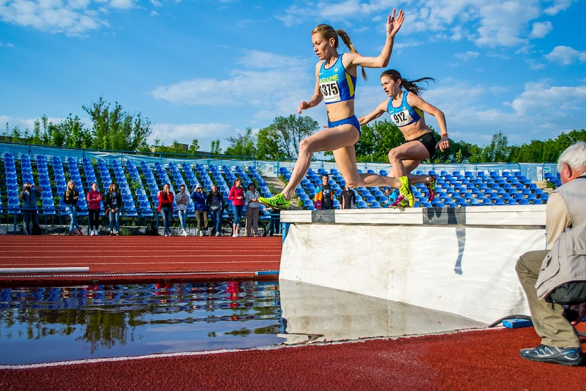 Фотографии. ХІІ літня Універсиада України по легкой атлетике