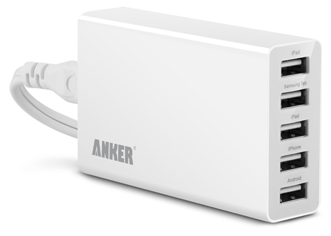 Review: Anker 25W 5A 5-Port USB Wall Charger Desktop Charger