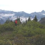 Looking over Rampart Ridge.
