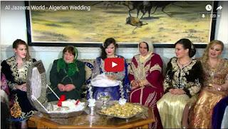 «Les mariages traditionnels algériens» vu par Al Jazeera