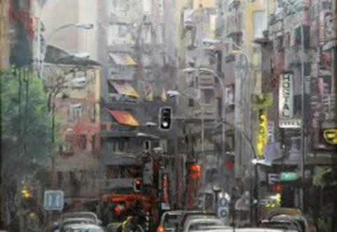 Primer Premio I Certamen de Pintura de Laura Otero