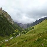 En amont de Terskol (Kabardino-Balkarie), 7 août 2014. Photo : J. Marquet