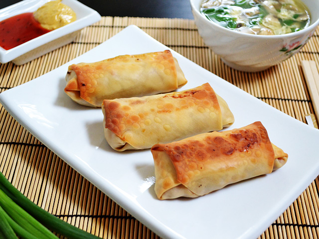 vegetable egg rolls - Budget Bytes Vegetarian Egg Rolls