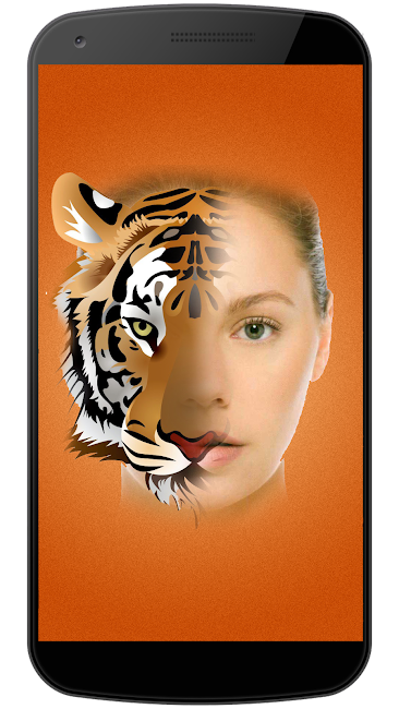 #2. Animal Photo Face Mix (Android)