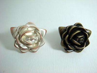 裝潢五金品名:Z690-玫瑰取手顏色:古銅/香檳玖品五金