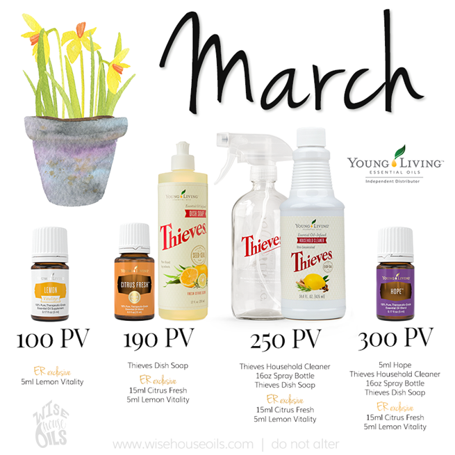 March 2018 Young Living Promo WHO
