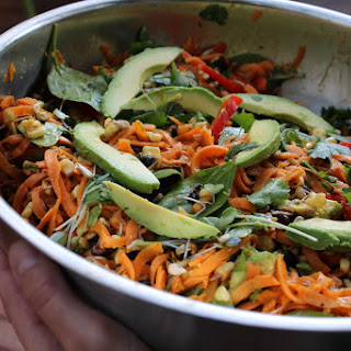 Southwestern Chipotle Sweet Potato Noodle Salad