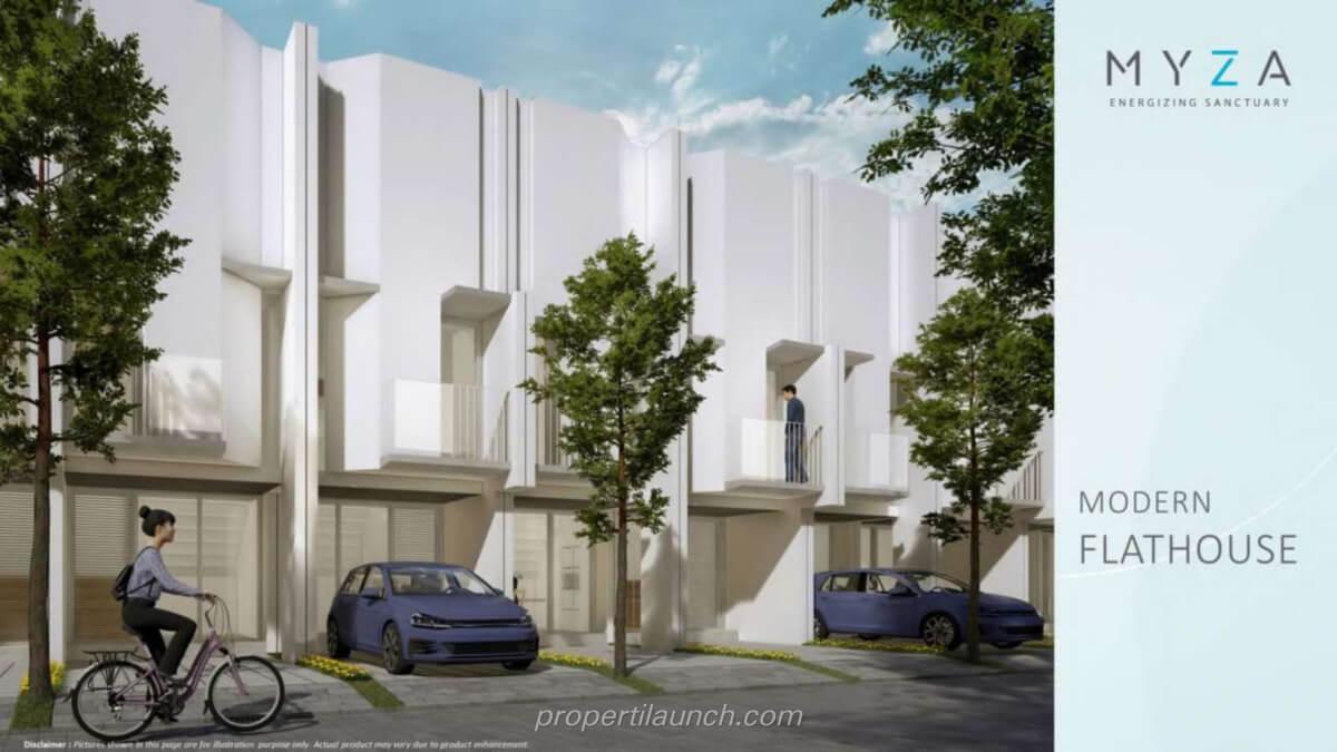 Rumah Myza Flat House BSD