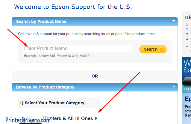 Did not look for your Epson Artisan 810 All-in-One printer driver download