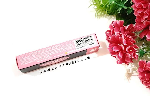 Review Wangskin Lip Tattoo #Lovely Pink