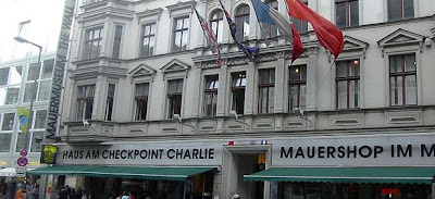 One man's mission to remember Checkpoint Charlie