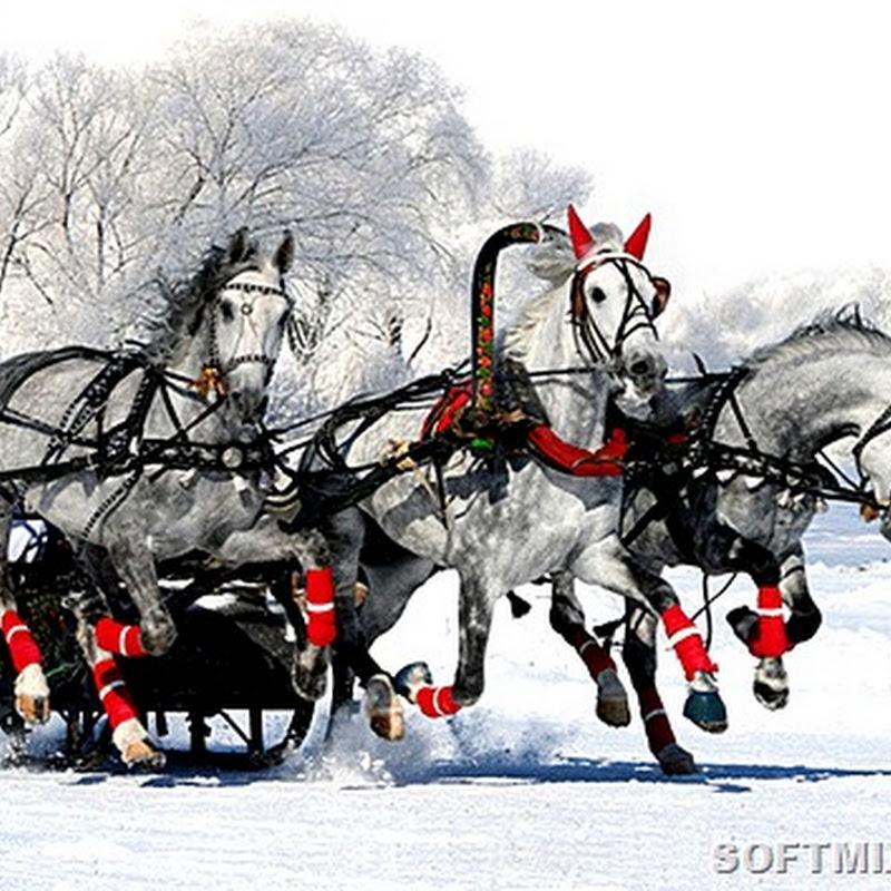 Русская зима: самые красивые места нашей страны