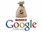 Sebab-Sebab Akun Google Adsense Dibanned