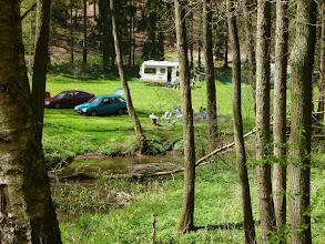 Photo: Camp v kokořínském dole.