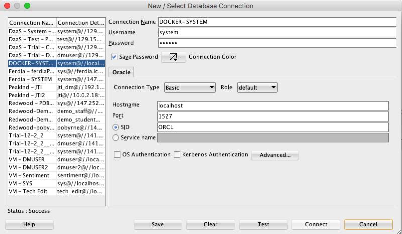 Setting up Oracle Database on Docker « Oralytics