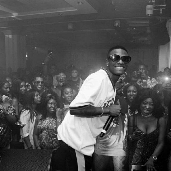 Wizkid Pictured in N750,000 Gucci Jacket (Photos)