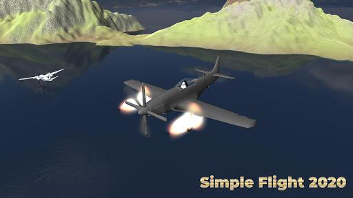 Flight Simulator Simple Flight 2020 Airplane android2mod screenshots 9