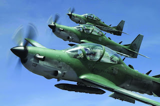 Super Tucano attack planes