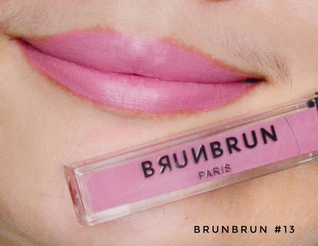 [Review] BRUNBRUN Paris Lip Cheek Eye Color Innocent